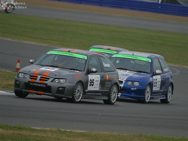 Dean Clements - MG ZR
