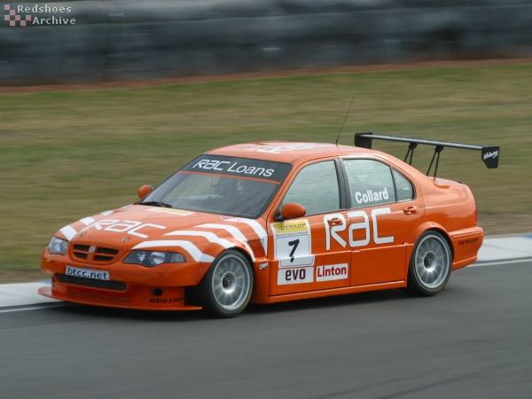 Rob Collard - MG ZS
