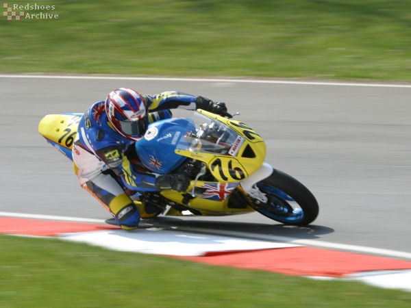 Ross Walter - Interserve Racing Triumph