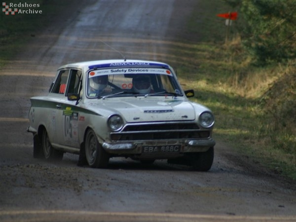 Neil Calvert / Ariene Cookson - Ford Lotus Cortina