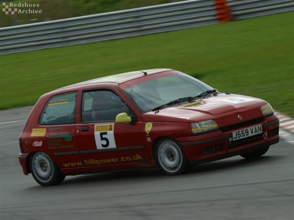 Neil Threadgill - Renault Clio